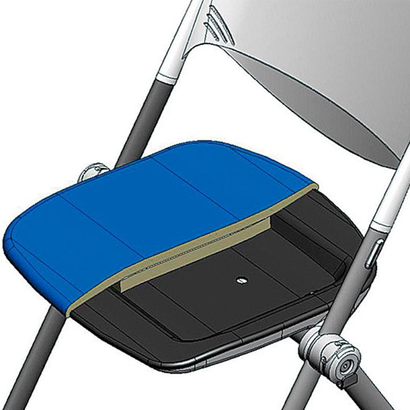 ミーティングチェア ネスティングチェア 会議用椅子 キャスター脚 スチール シルバー 塗装脚 キャスター付き 肘付き 布 | I-WSX-03CA-F