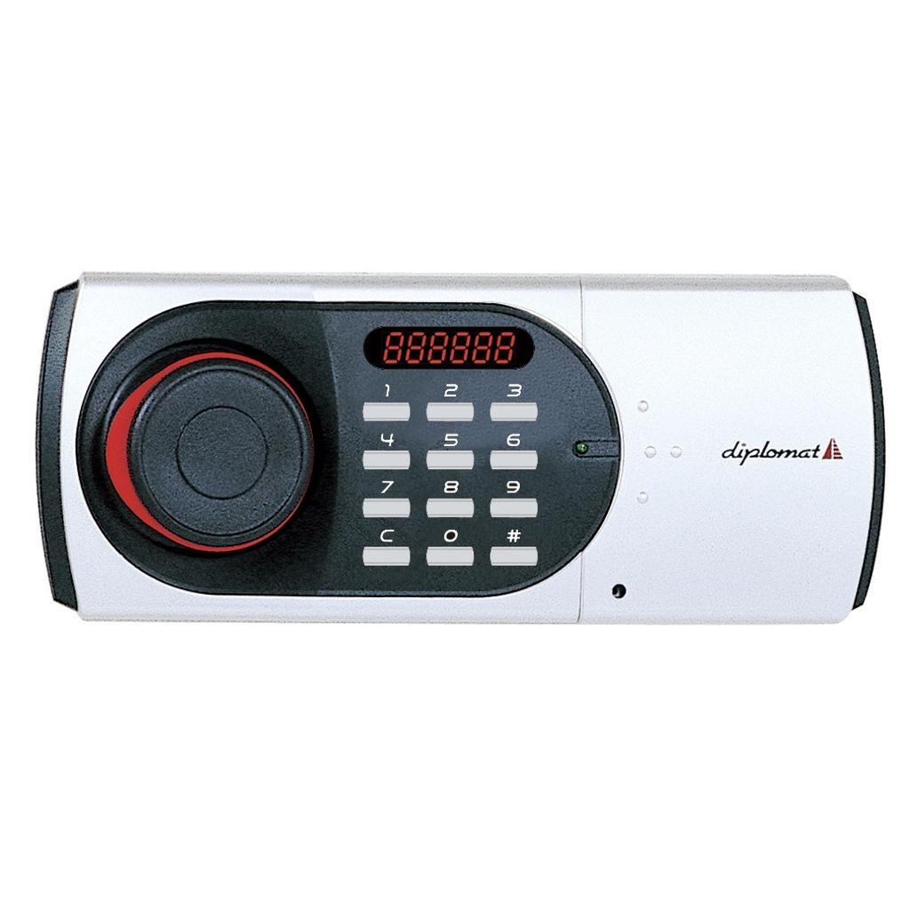 ディプロマット デジタルテンキー式 耐火金庫 60分耐火 容量19L ホワイト 警報音付 | I-119EN88