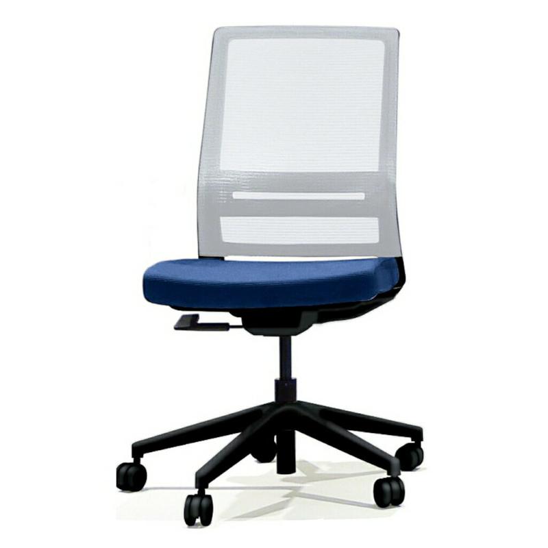 オフィスチェア デスクチェア 事務椅子 肘なし 背メッシュ WAA   I-WAA-H0