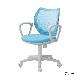 オフィスチェア デスクチェア 事務椅子 肘付き 背メッシュ フローラル | I-FLO-43M1-F