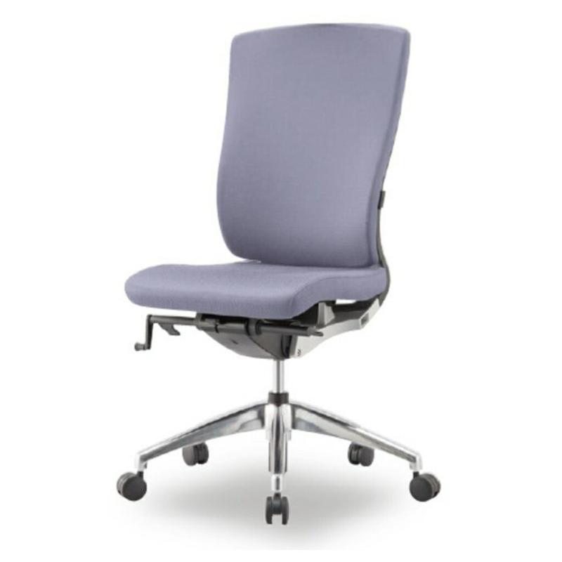 オフィスチェア デスクチェア 事務椅子 肘なし ラグリス | I-LUX-F-HS0A