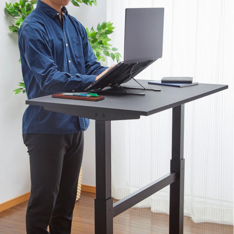 【新商品】8段階調節 ノートパソコンスタンド 折りたたみ 折りたたみ式 パソコンスタンド アルミ ノートパソコン pcスタンド ゲーム テレワーク ブックスタンド タブレットスタンド 姿勢改善 持ち運び 肩こり 角度調節 PCスタンド 縦置き I-ADS-001