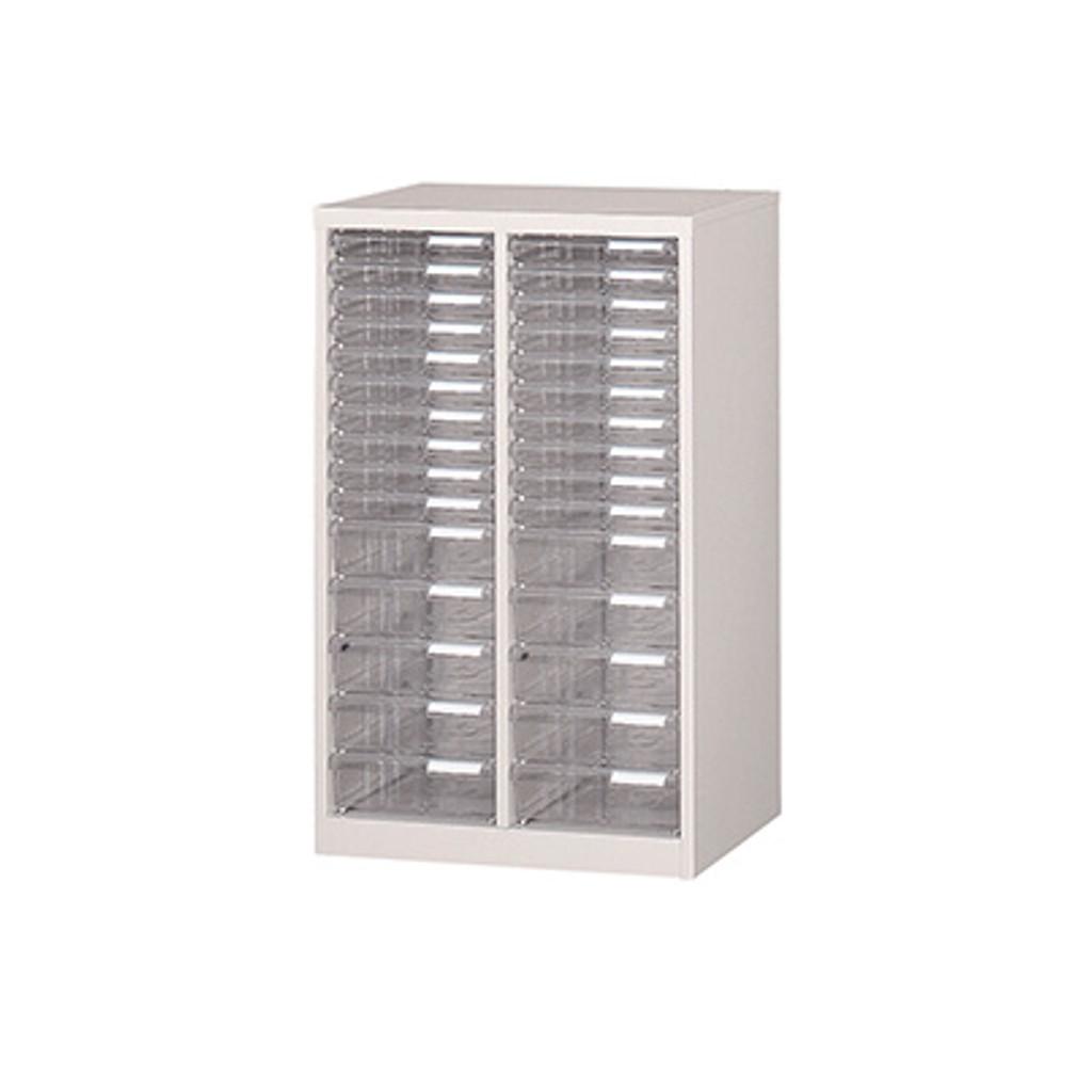 フロアケース レターケース A4サイズ 2列15段 W540 D400 H880 | I-A-215
