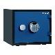 ディプロマット デジタルテンキー式 デザイン金庫 60分耐火耐水 容量19L ブルー 警報音付 | I-A119R3WRBLUE