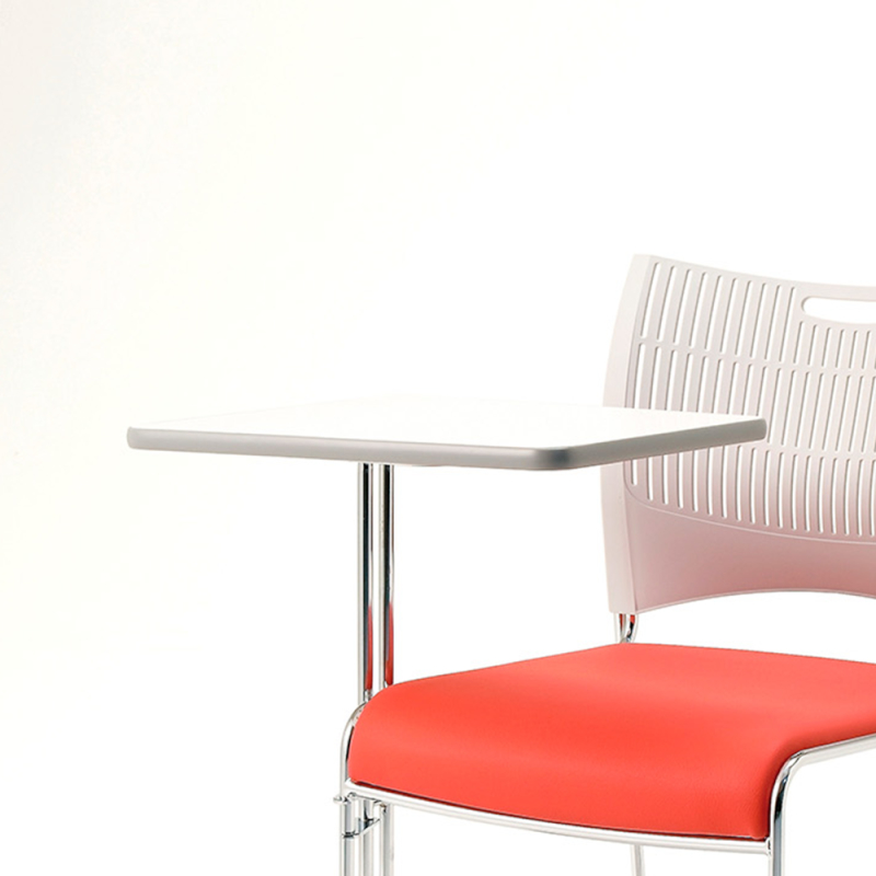 ミーティングチェア メモ台 会議用椅子   I-DMC281