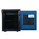ディプロマット デジタルテンキー式 デザイン金庫 60分耐火耐水 容量25L ブルー 警報音付 | I-A125R3WRBLUE