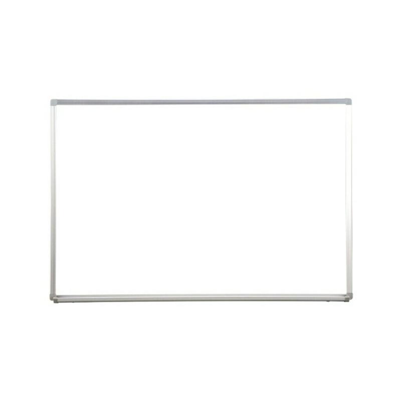 ホワイトボード 壁掛け 無地 W900 H600 マグネット対応 | I-TFR-609