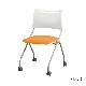 ミーティングチェア スタッキングチェア 会議用椅子 | 【4脚セット】 I-LTS-4N-F