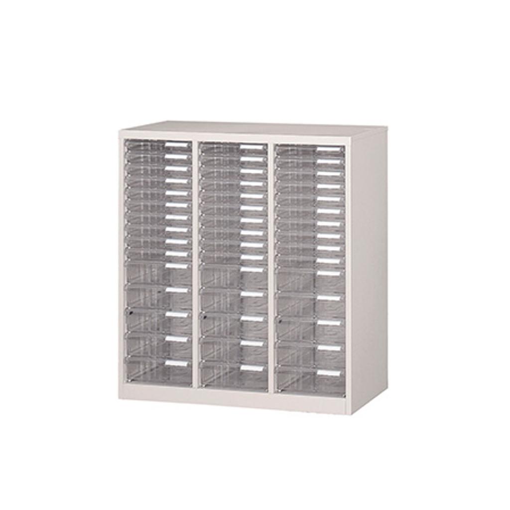 フロアケース レターケース A4サイズ 3列15段 W800 D400 H880 | I-A-315
