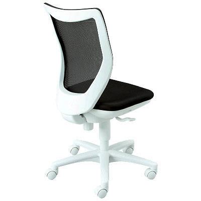 オフィスチェア デスクチェア 事務椅子 肘なし 背メッシュ モノトーン BIT-WMX | I-BIT-WMX45M0-F
