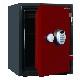 ディプロマット デジタルテンキー式 デザイン金庫 60分耐火耐水 容量36L レッド 警報音付 | I-A530R3WRRED 【DMCP】