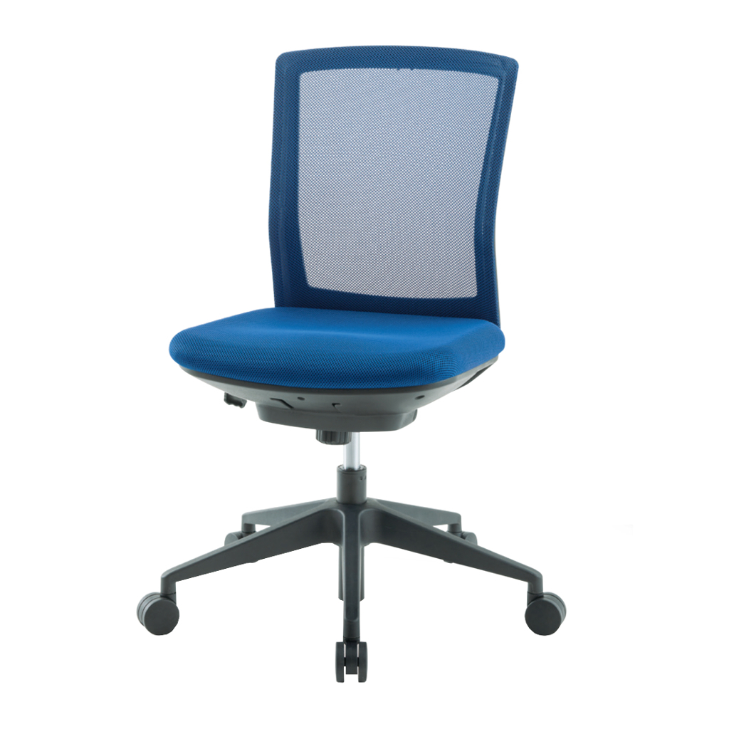 オフィスチェア デスクチェア 事務椅子 肘なし 背メッシュ シンフォート | I-SFN-46M0-M