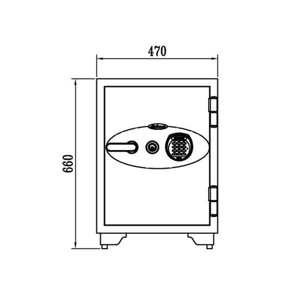 ディプロマット 鍵+デジタルテンキー式金庫 90分耐火 容量50L ホワイト 警報音付 | I-060EKR3 【DMCP】