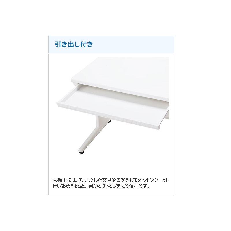 オフィスデスク 事務机 片袖机 W1000 D700 H700 | I-SSD-107K