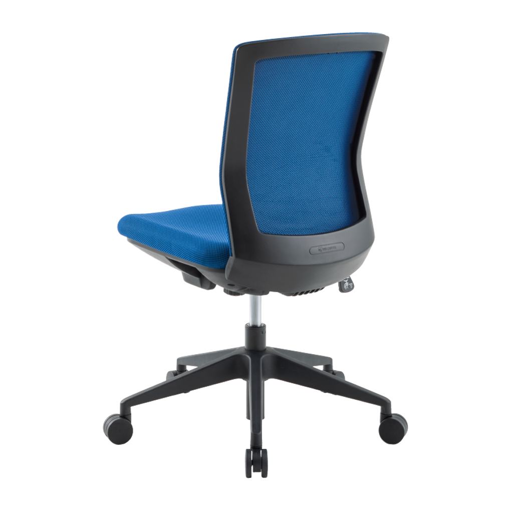 オフィスチェア デスクチェア 事務椅子 肘なし 背布 シンフォート   I-SFN-46M0-F