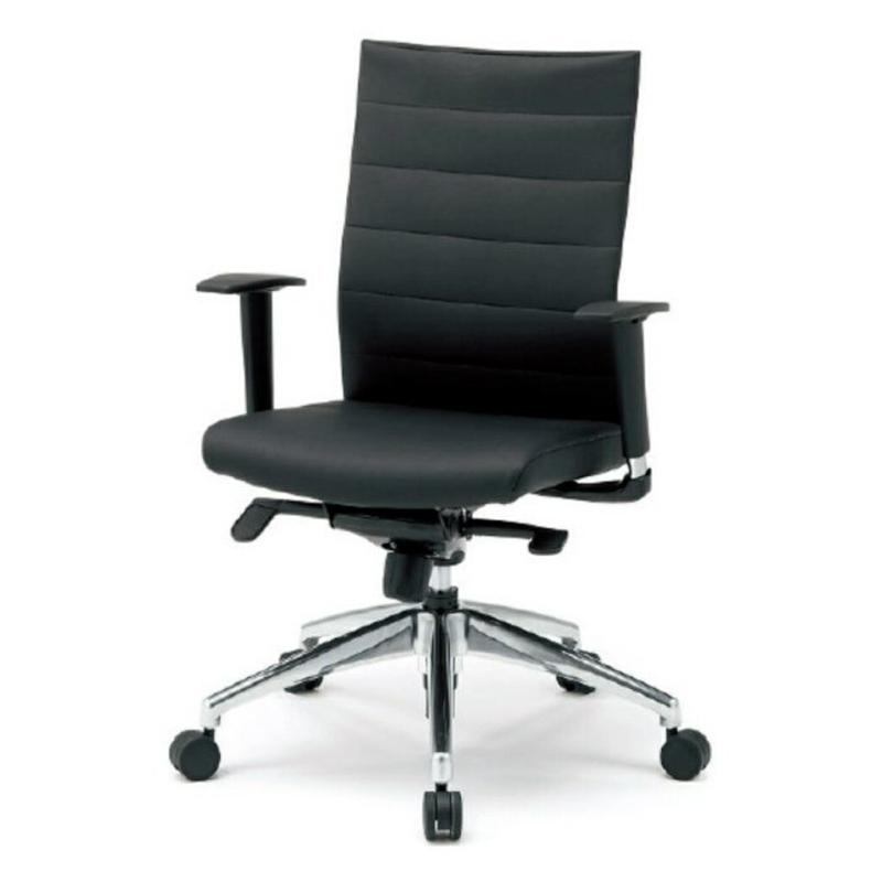 オフィスチェア デスクチェア 事務椅子 可動肘 スキン | I-JP21LL