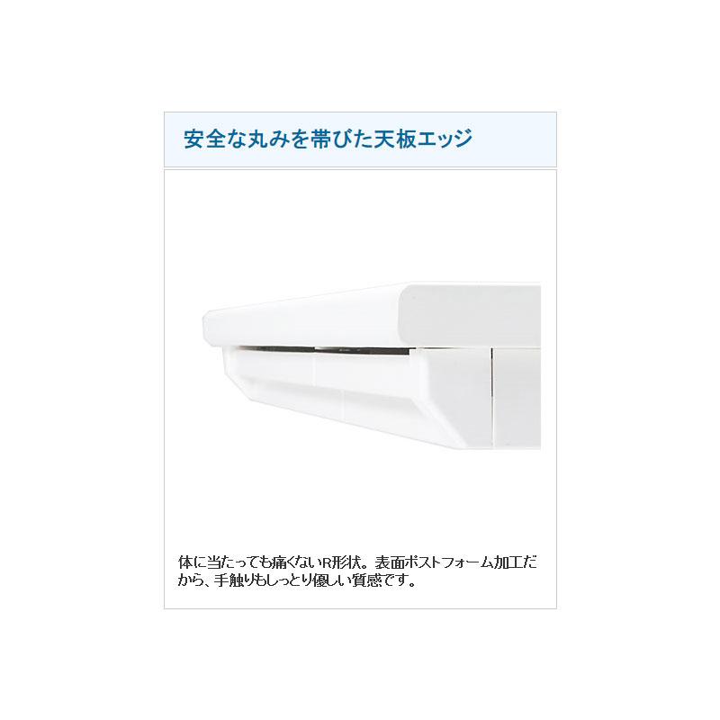 アイリスチトセ オフィスデスク 事務机 片袖机 W1200 D700 H700 | I-SSD-127K