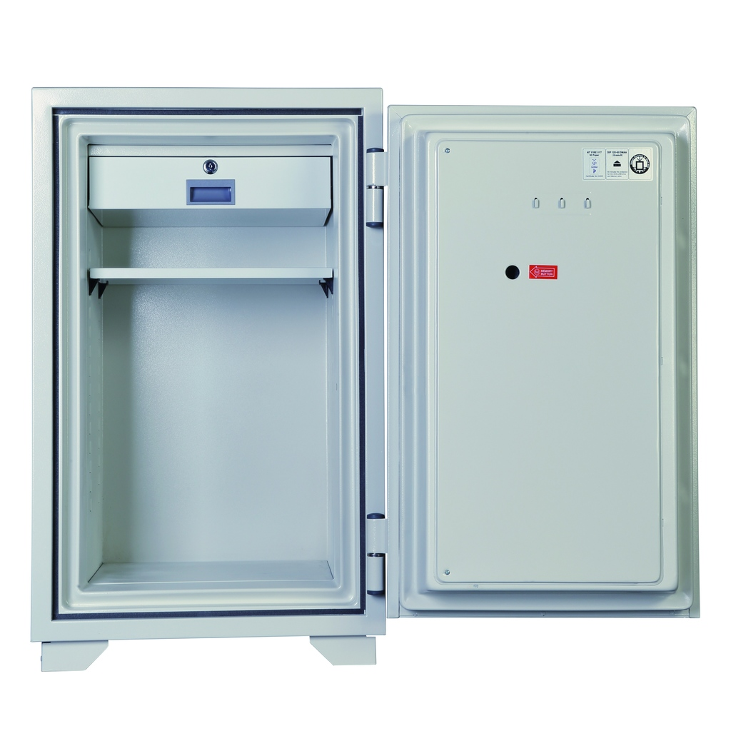 ディプロマット 鍵+デジタルテンキー式金庫 90分耐火 容量84L ホワイト 警報音付 | I-080EKR3