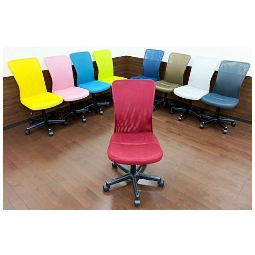 【新商品】オフィスチェア デスクチェア 椅子 メッシュ テレワーク 可愛い I-KKC-001