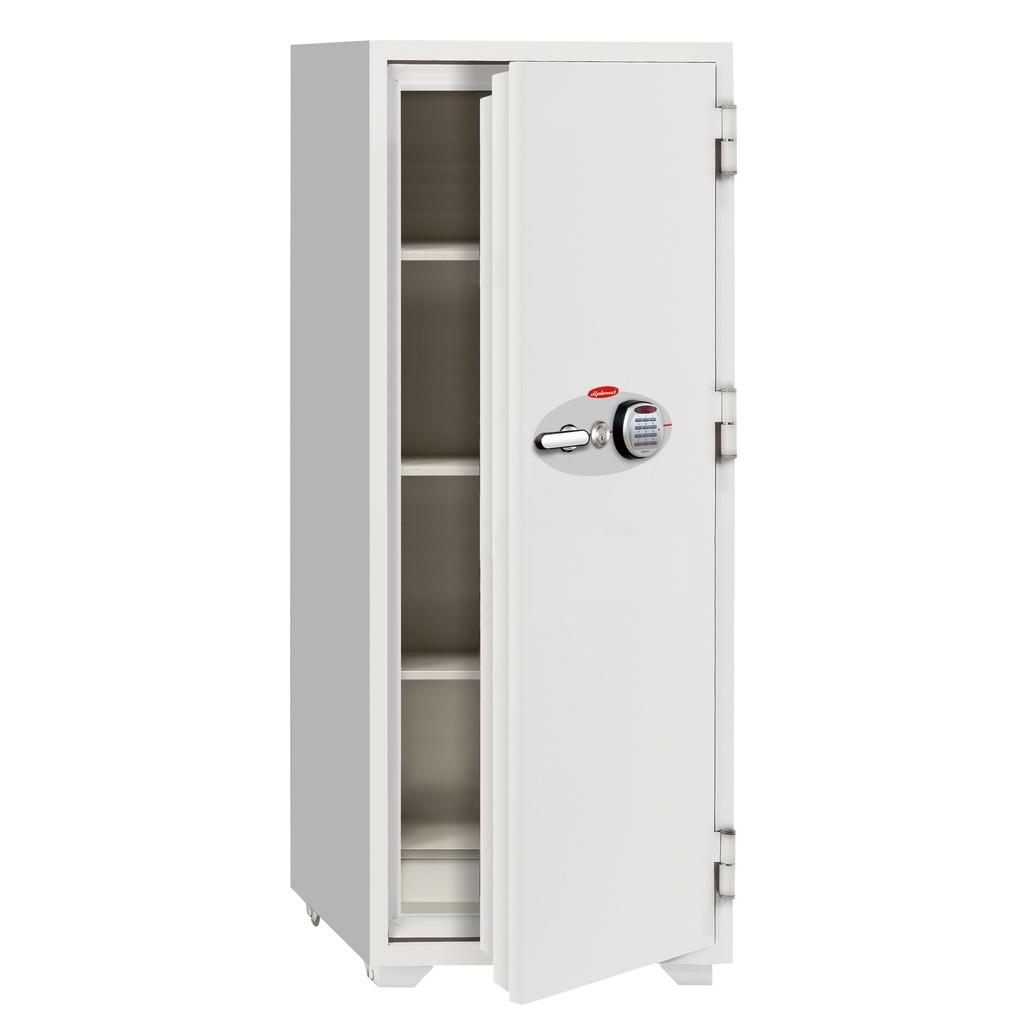 ディプロマット 鍵+デジタルテンキー式金庫 120分耐火 容量320L ホワイト 警報音付 | I-N200EKR3