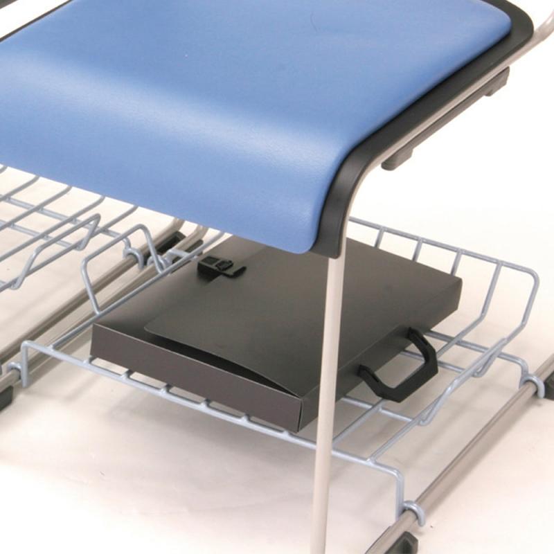 ミーティングチェア 荷物受棚 会議用椅子 | I-HGS-TN1
