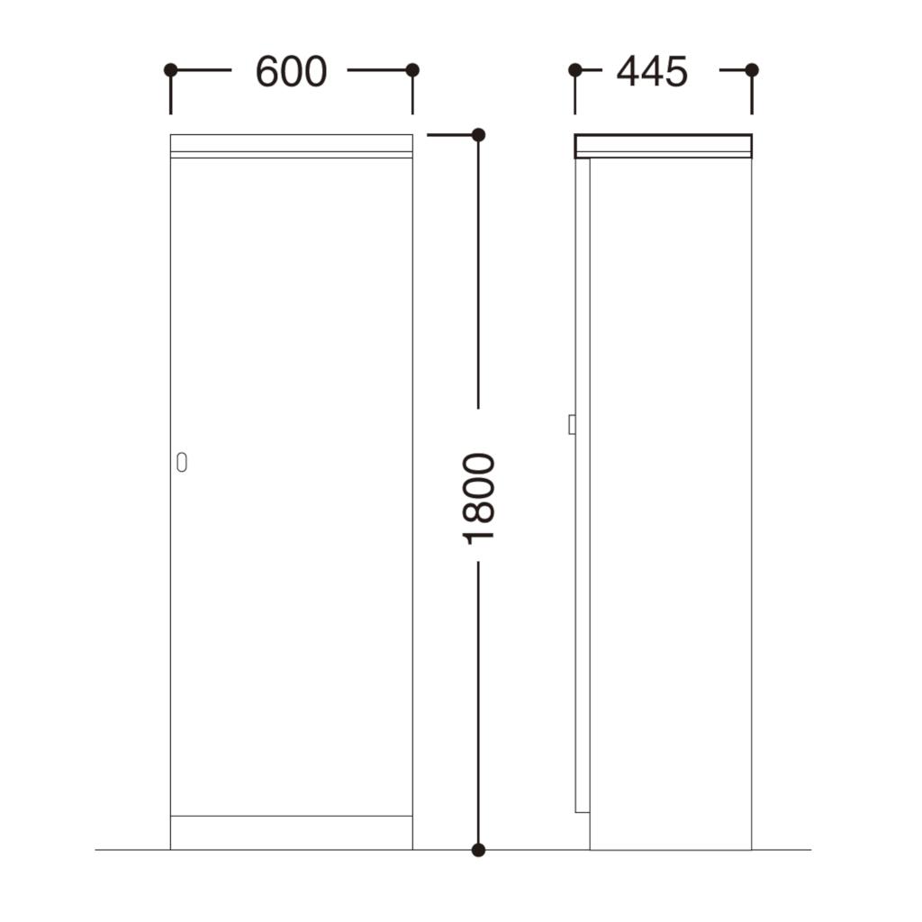役員家具 ワードローブ | I-4500-30