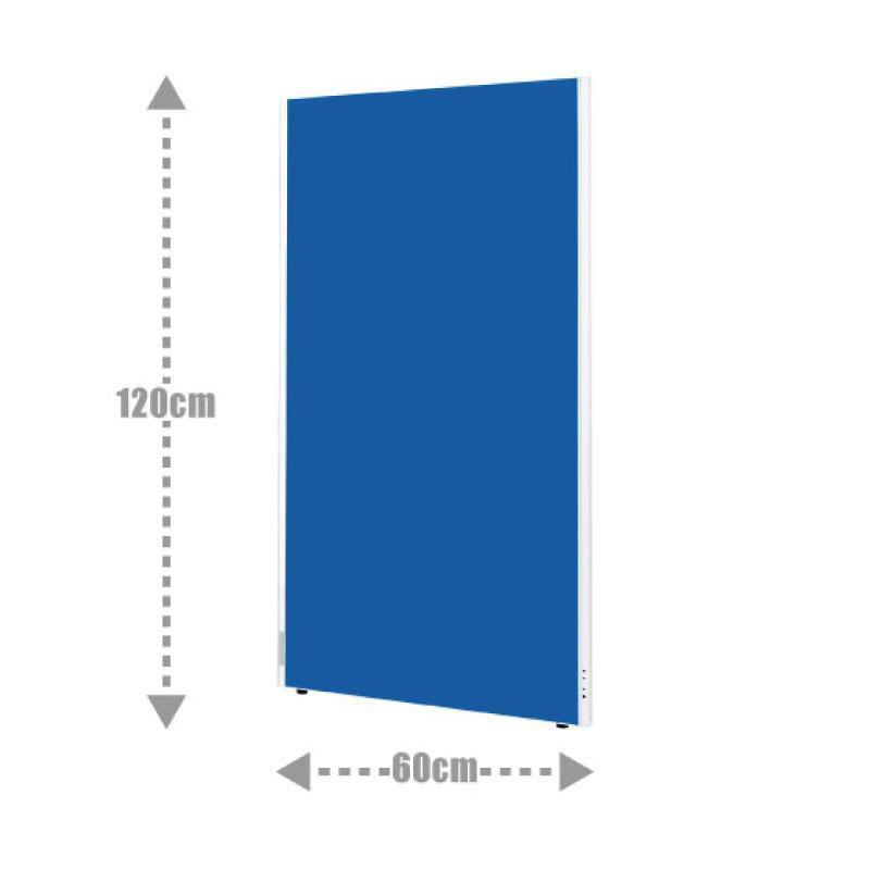 1年保証 パーテーション 間仕切り 布タイプ クロスパーティション W600 H1200 | I-ASPN0612