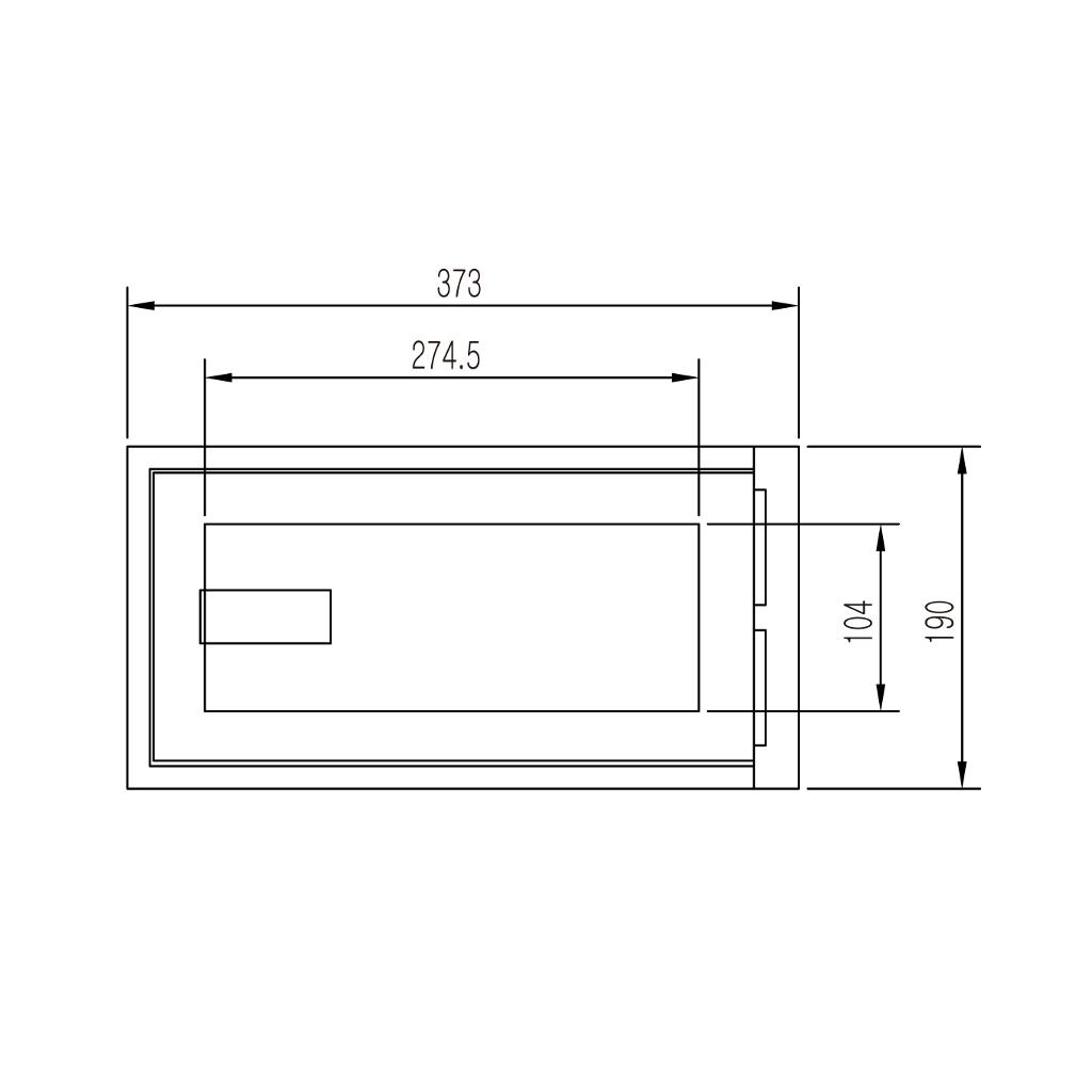 ディプロマット メディアデーターインサート 90分耐火 容量6.5L ブラック | I-DIS0708
