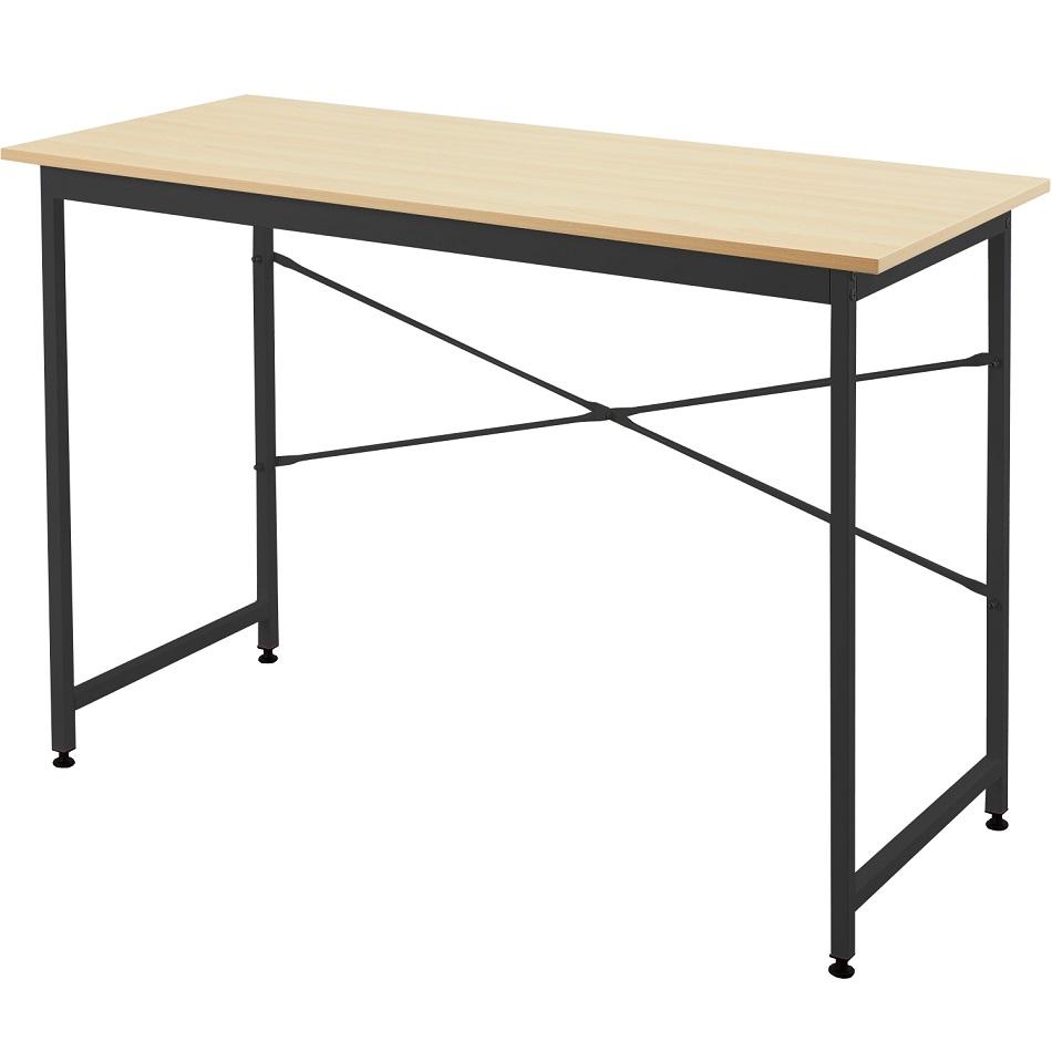【新商品】シンプルデスク 木製 勉強机 パソコンデスク オフィスデスク 書斎 テレワーク I-NDS-002