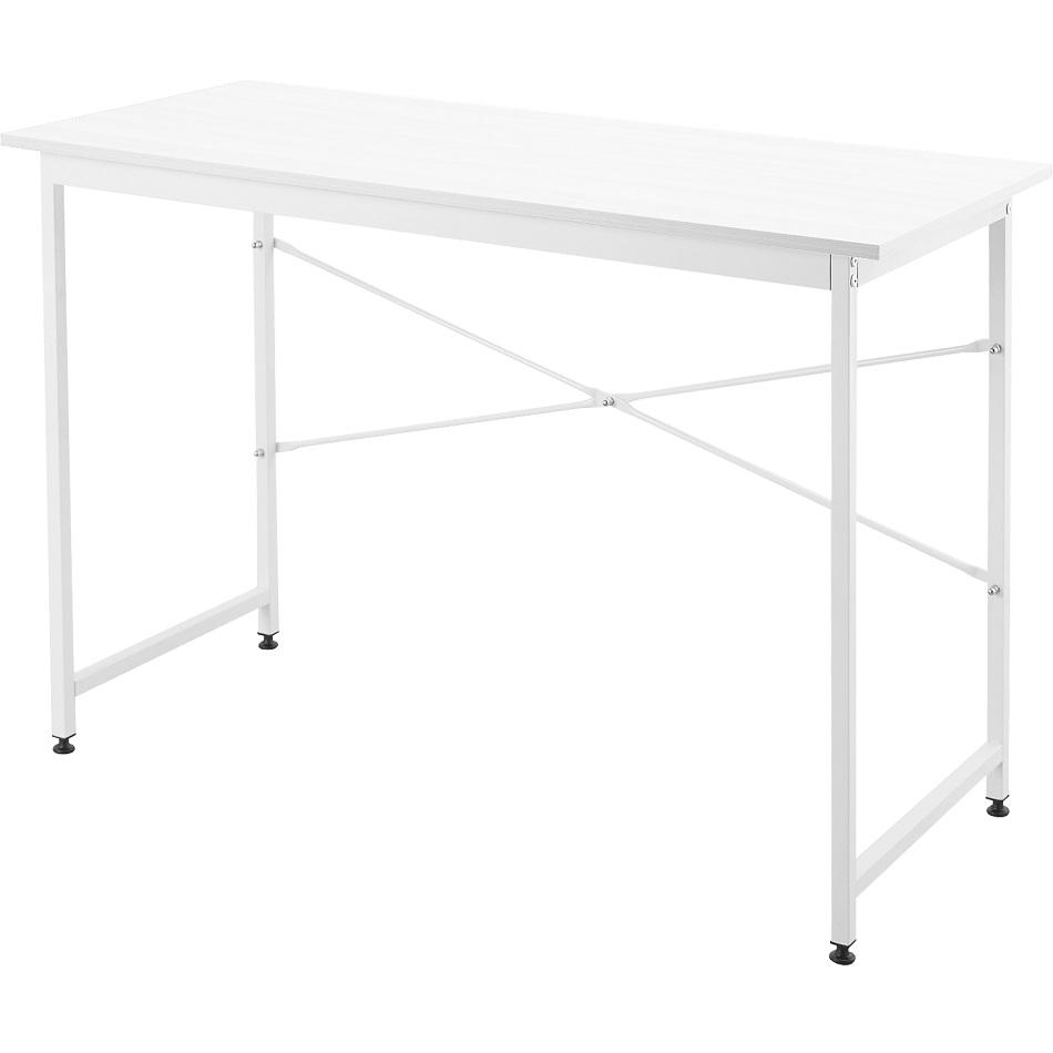【新商品】シンプルデスク 木製 オフィスデスク 幅1100 奥行480 I-NDS-002