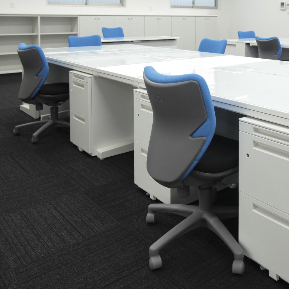 オフィスチェア デスクチェア 事務椅子 肘なし ツートン BIT-X | I-BIT-X45L0-F