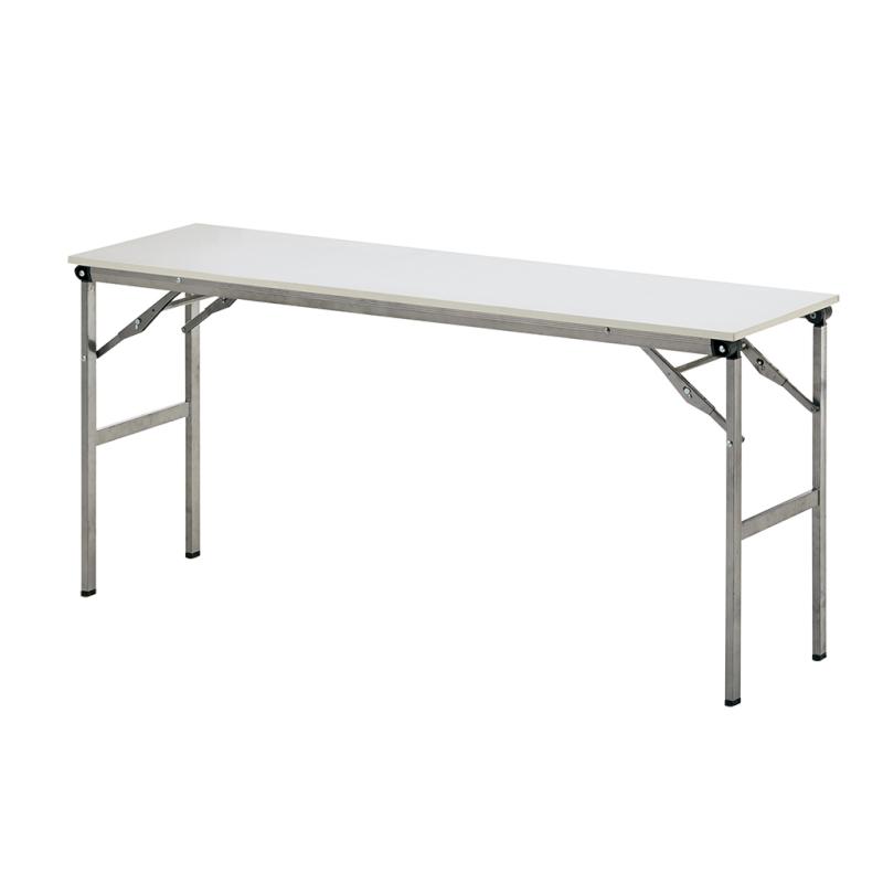 会議用テーブル 折りたたみ 超軽量 W1500 D600 H700 棚なし | I-LOT-1560E
