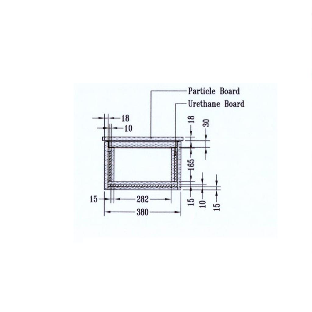 ディプロマット メディアデーターインサート 60、90分耐火 容量18.7L グレー | I-DIF01