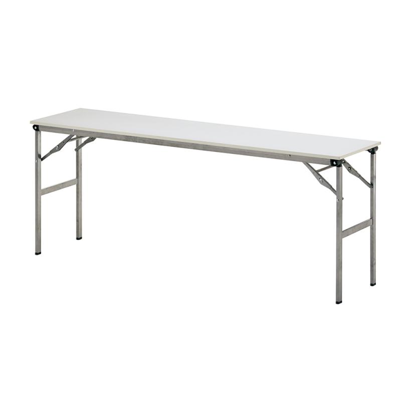 会議用テーブル 折りたたみ 超軽量 W1800 D450 H700 棚なし | I-LOT-1845E