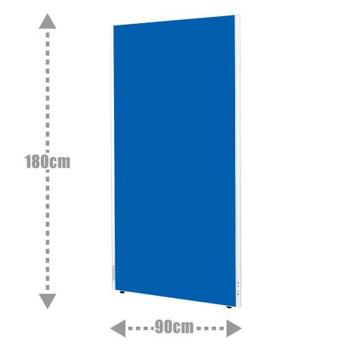 1年保証 パーテーション 間仕切り 布タイプ クロスパーティション W900 H1800 | I-ASPN0918