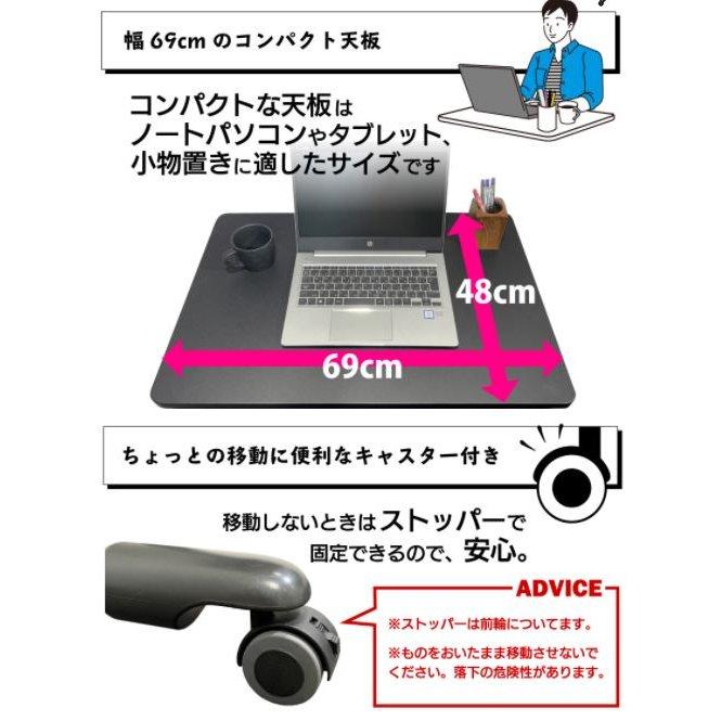【新商品】 スタンディングデスク ガス圧式 昇降テーブル 昇降デスク 上下昇降|I-GSD-01