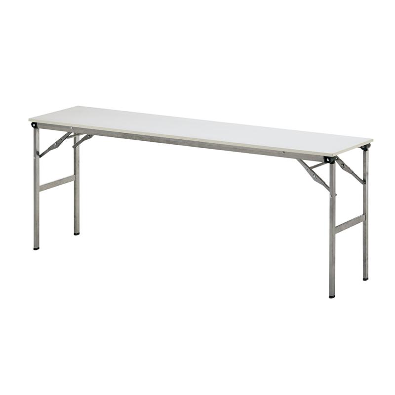 会議用テーブル 折りたたみ 超軽量 W1800 D600 H700 棚なし | I-LOT-1860E