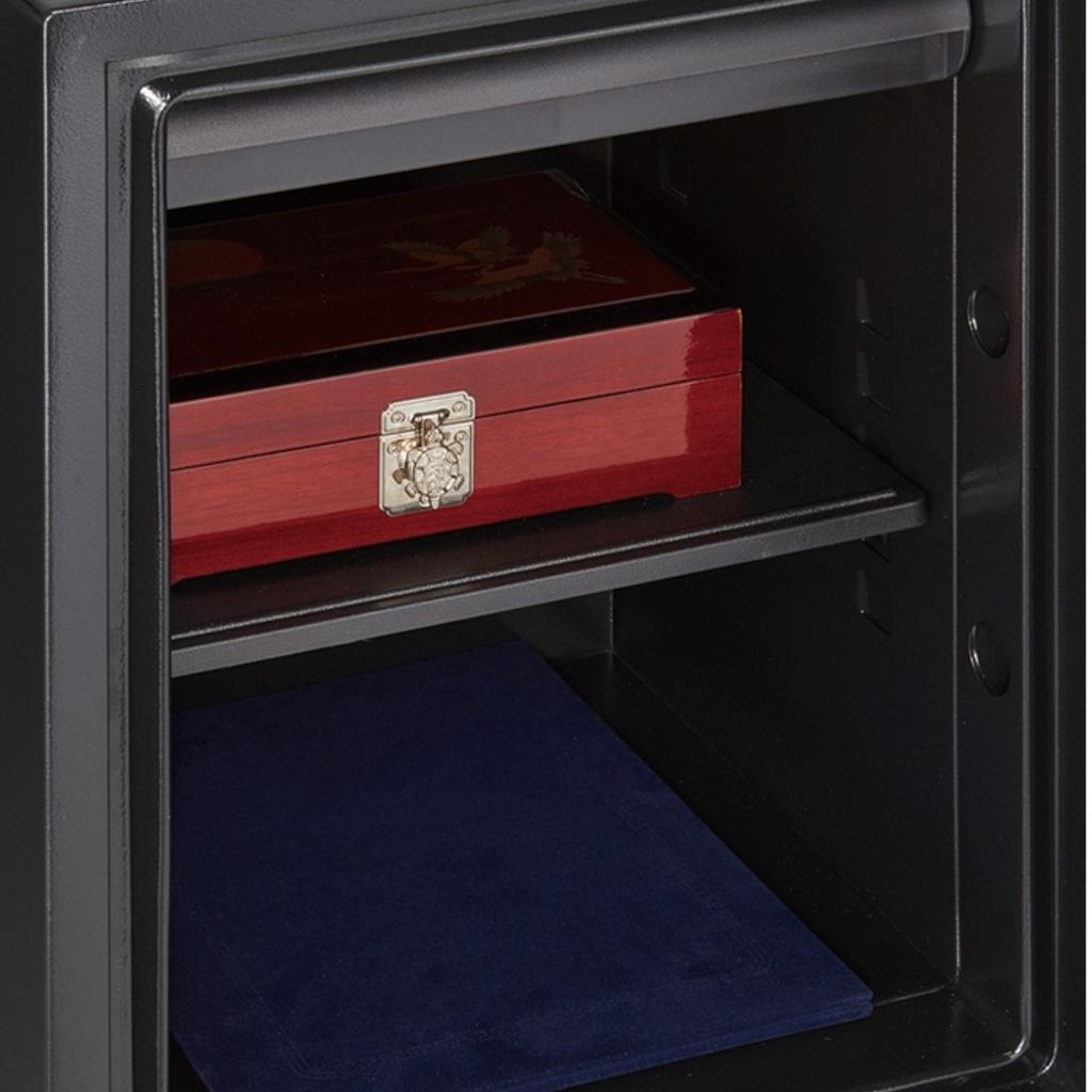 ディプロマット デジタルテンキー式 デザイン金庫 60分耐火 容量36L クリーム 警報音付   I-WS500ALC