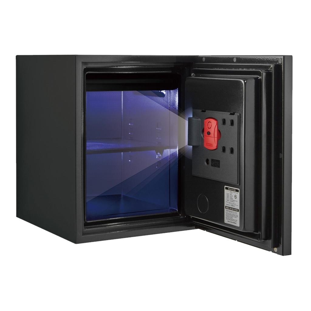 ディプロマット デジタルテンキー式 デザイン金庫 60分耐火 容量36L イエロー 警報音付 | I-WS500ALY