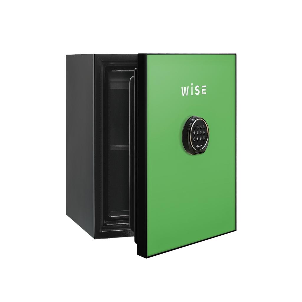 ディプロマット デジタルテンキー式 デザイン金庫 60分耐火 容量36L グリーン 警報音付 | I-WS500ALG