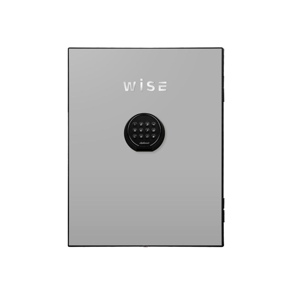 ディプロマット デジタルテンキー式 デザイン金庫用フェイスパネル 容量5Kg ライトグレイ   I-WS500FPLG