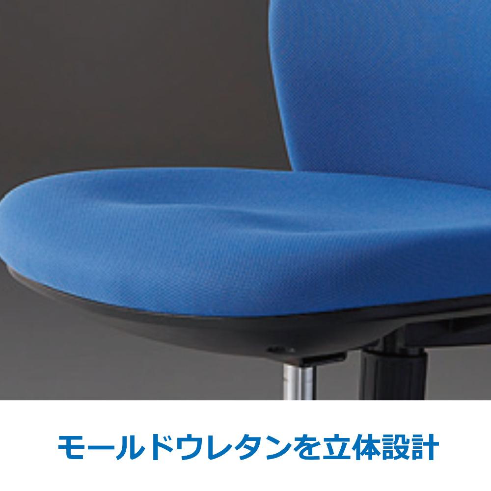 オフィスチェア デスクチェア 事務椅子 肘なし HG1000 | I-HG1000-M0-F