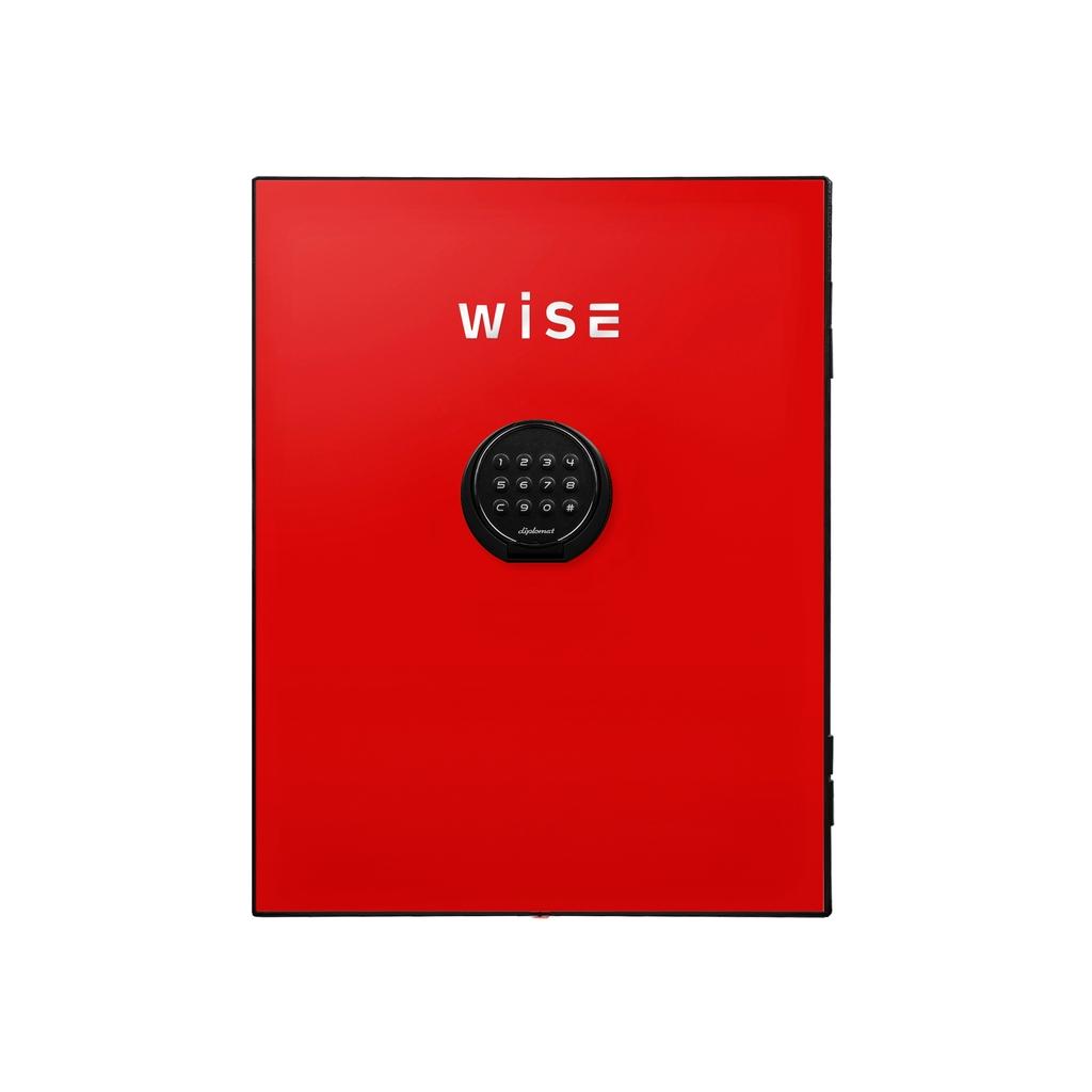 ディプロマット デジタルテンキー式 デザイン金庫用フェイスパネル 容量5Kg レッド | I-WS500FPR