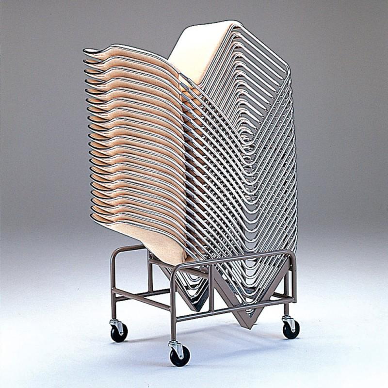 ミーティングチェア 専用台車 レセプション用椅子 | I-XA913