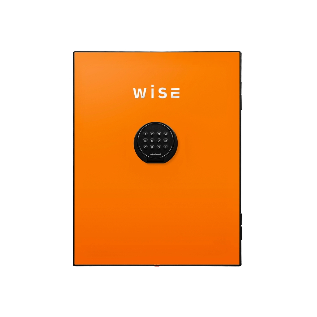 ディプロマット デジタルテンキー式 デザイン金庫用フェイスパネル 容量5Kg オレンジ | I-WS500FPO【1545798】