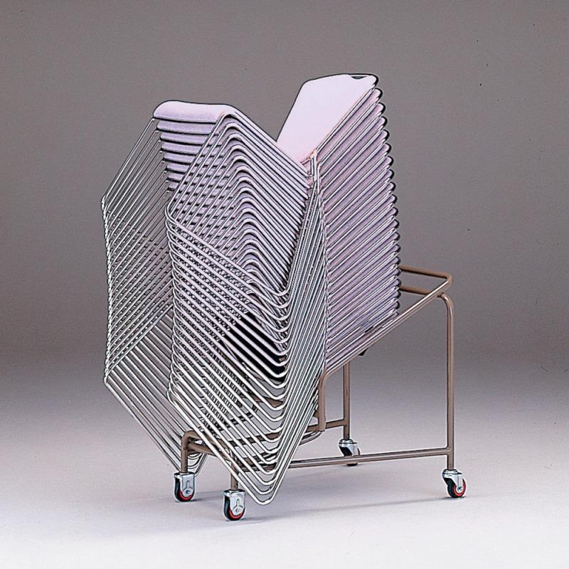 ミーティングチェア 専用台車 レセプション用椅子 | I-XA1841