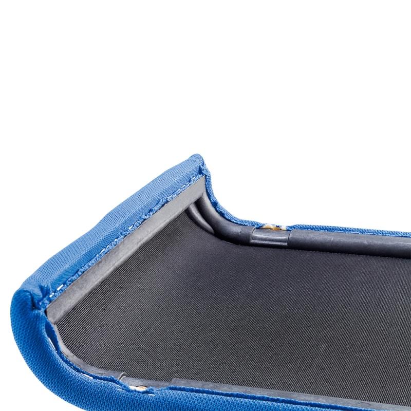 ミーティングチェア スタッキングチェア 会議用椅子 ループ脚 ステンレス メッキ脚 布 | I-DMC15-SJN