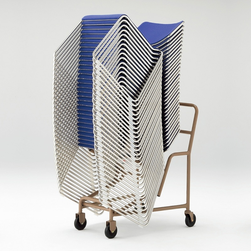 ミーティングチェア 専用台車 レセプション用椅子   I-XA1801