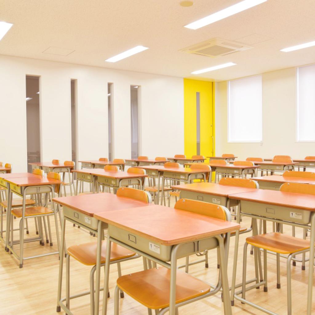 学校椅子 生徒用椅子 固定式 旧JIS1号 背座合板 | I-エコール2001-C02NFW