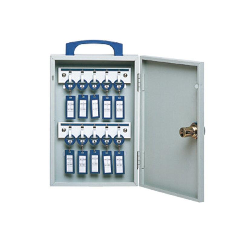 キーボックス 10本用 開閉タイプ ダイヤル錠式 | I-SDC-10